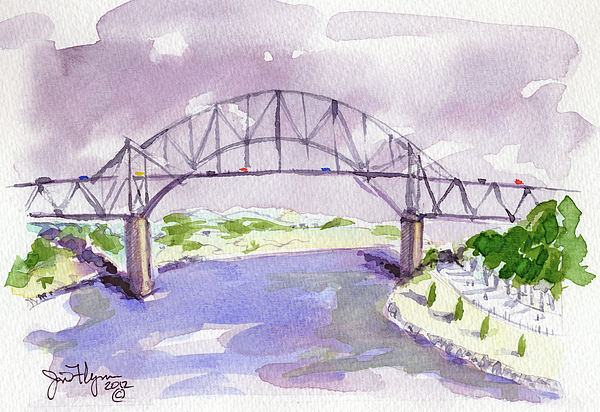Sagamore Bridge by James Flynn